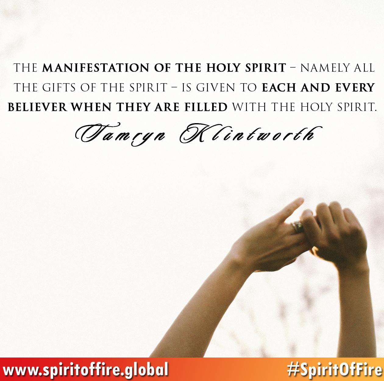 manifestation-of-the-holy-spirit